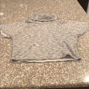Gap Kids Girls Turtleneck Pullover Sweatshirt